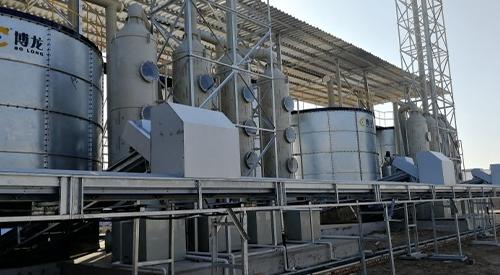 鸡粪环保处理设备生产流程