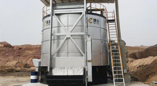 污泥处理的方法,高温智能污泥处理
